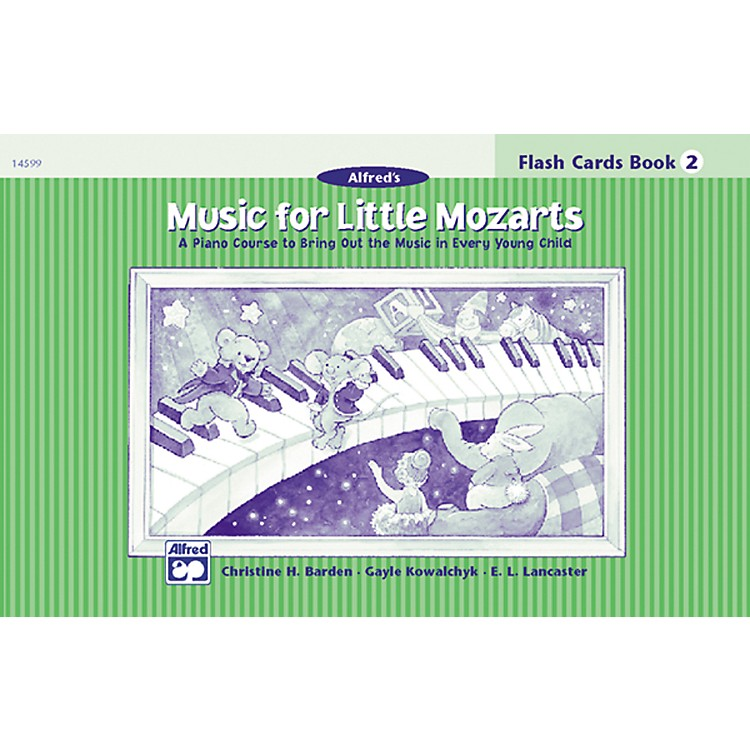 Alfred Music for Little Mozarts Flash Cards Level 2
