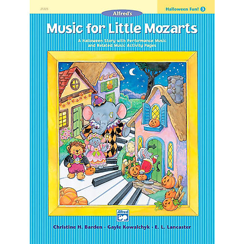 Alfred Music for Little Mozarts: Halloween Fun Book 3-thumbnail
