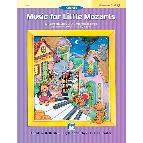 Alfred Music for Little Mozarts: Halloween Fun Book 4