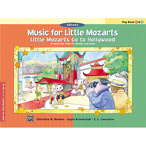 Alfred Music for Little Mozarts: Little Mozarts Go to Hollywood Pop Book 1 & 2