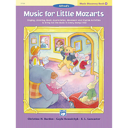 Alfred Music for Little Mozarts: Music Discovery Book 4-thumbnail