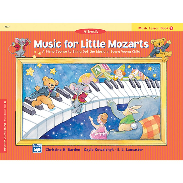 Alfred Music for Little Mozarts Music Lesson Book 1