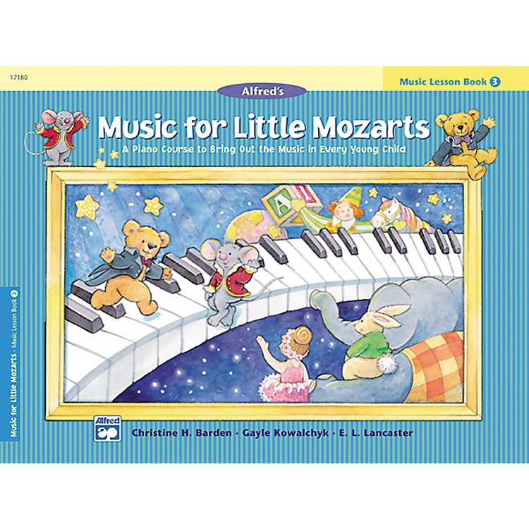 Alfred Music for Little Mozarts: Music Lesson Book 3
