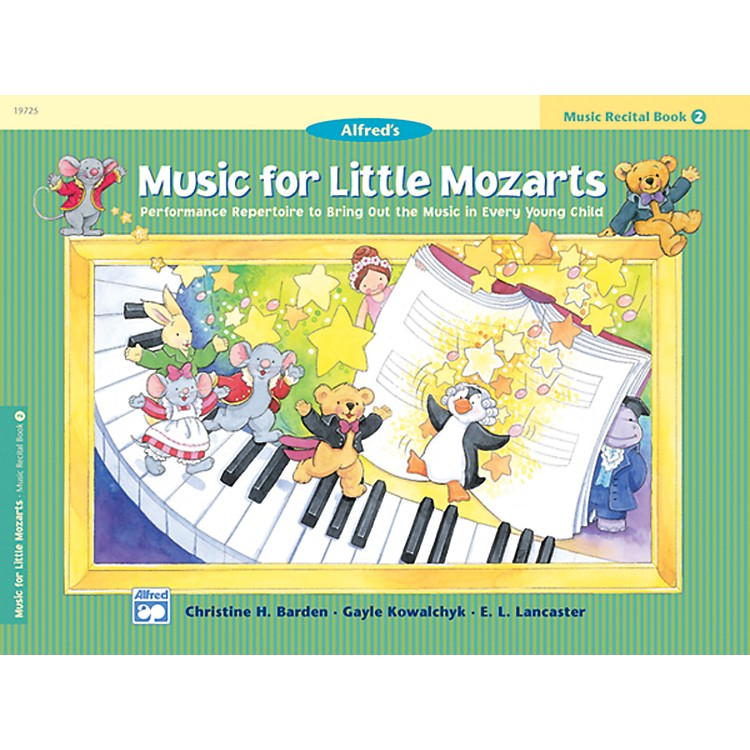 Alfred Music for Little Mozarts Music Recital Book 2 ...
