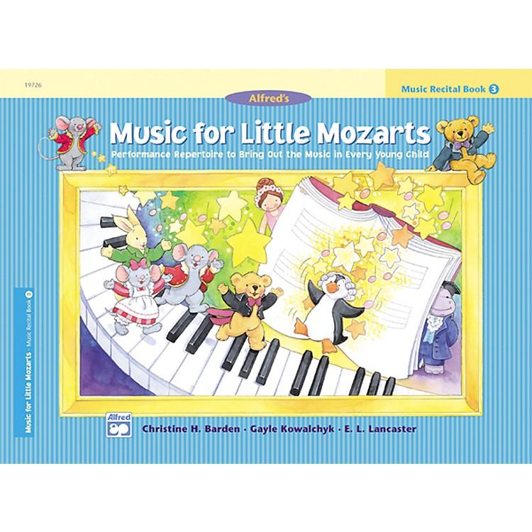 AlfredMusic for Little Mozarts: Music Recital Book 3