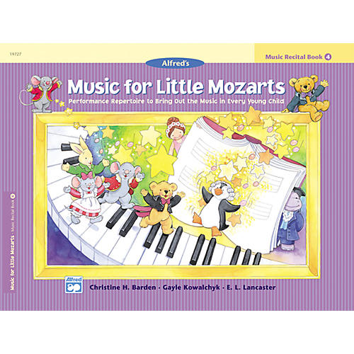 Alfred Music for Little Mozarts: Music Recital Book 4