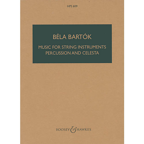 Boosey and Hawkes Music for String Instruments, Percussion and Celesta Boosey & Hawkes Scores/Books Series by Béla Bartók-thumbnail