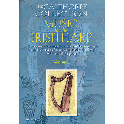 Waltons Music for the Irish Harp - Volume 1 Waltons Irish Music Books Series Softcover Written by Nancy Calthorpe-thumbnail