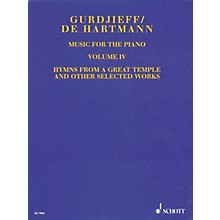 Schott Music for the Piano - Volume IV Schott Series Softcover