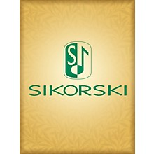 Sikorski Music for the Royal Fireworks (Solo Wind Instrument in C and Piano) Woodwind Series