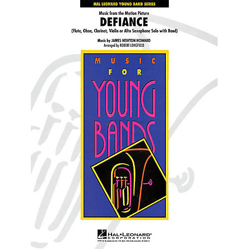 Hal Leonard Music from Defiance - Young Concert Band Level 3 by Robert Longfield-thumbnail