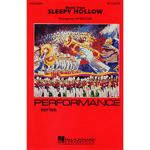 Hal Leonard Music from Sleepy Hollow Marching Band Level 3-4 Arranged by Jay Bocook