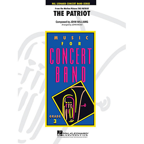 Hal Leonard Music from The Patriot - Young Concert Band Level 3 by John Moss