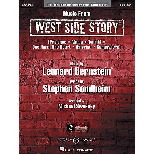 Hal Leonard Music from West Side Story Concert Band Level 2 Arranged by Michael Sweeney-thumbnail