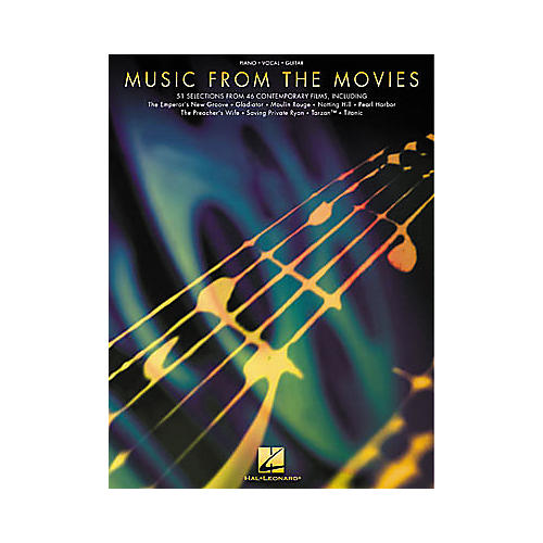 Hal Leonard Music from the Movies Piano, Vocal, Guitar Songbook