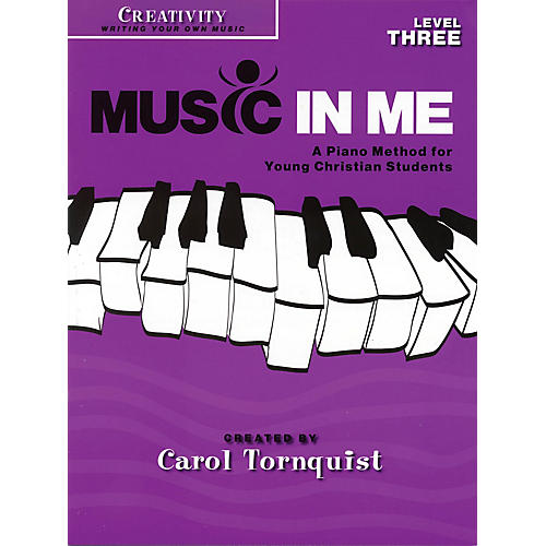 Word Music Music in Me - A Piano Method for Young Christian Students Sacred Folio by Carol Tornquist (Late Elem)-thumbnail
