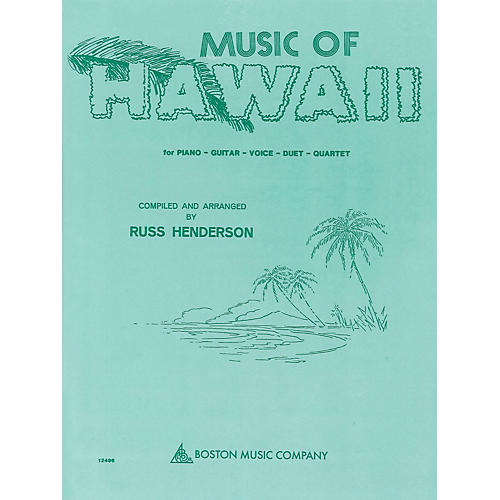 Boston Music Music of Hawaii Music Sales America Series Softcover
