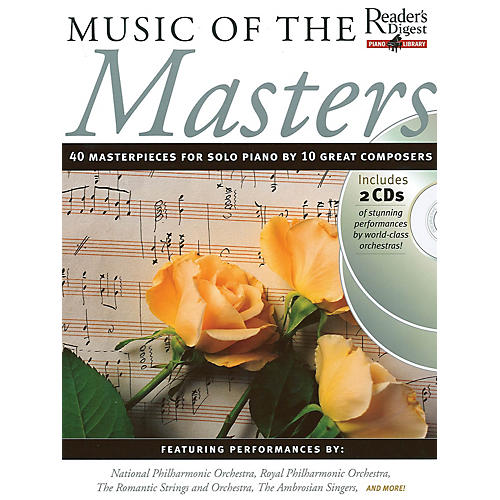 Music Sales Music of the Masters Music Sales America Series Softcover with CD-thumbnail