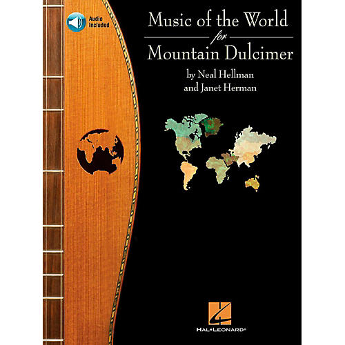 hal leonard music of the world for mountain dulcimer book cd musician 39 s friend. Black Bedroom Furniture Sets. Home Design Ideas