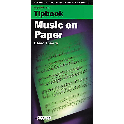 Tipbook Music on Paper Book