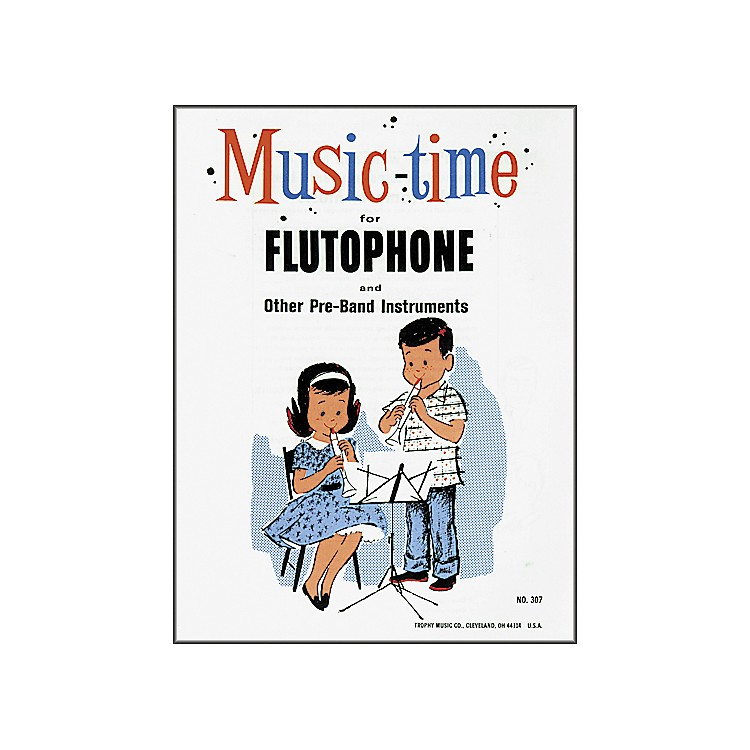Grover-Trophy Music-time Flutophone Method Book Music Time Book