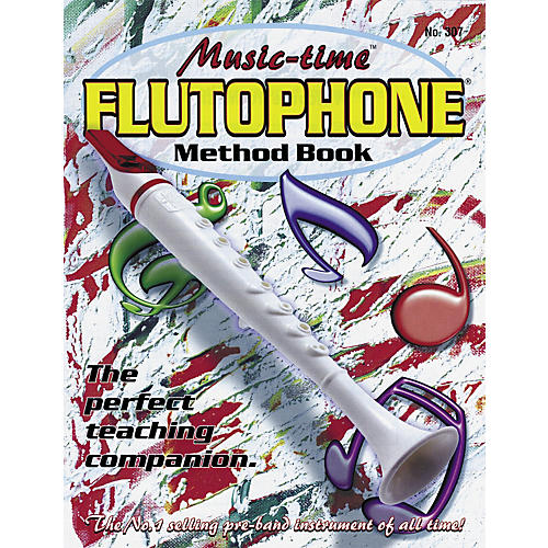 Grover-Trophy Music-time Flutophone Method Book
