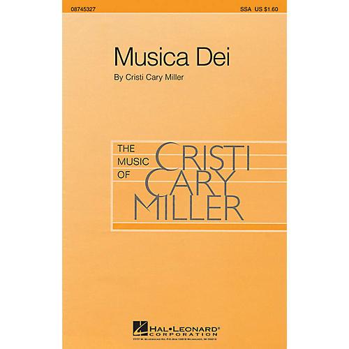 Hal Leonard Musica Dei SSA composed by Cristi Cary Miller