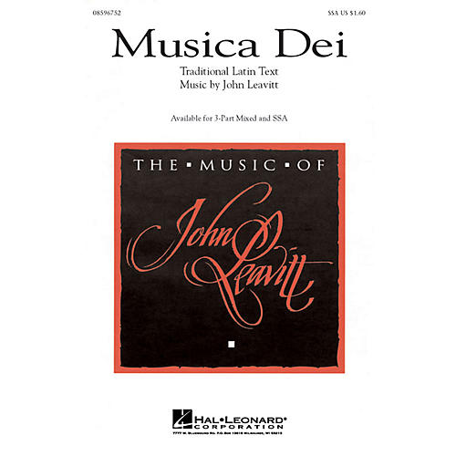 Hal Leonard Musica Dei SSA-thumbnail