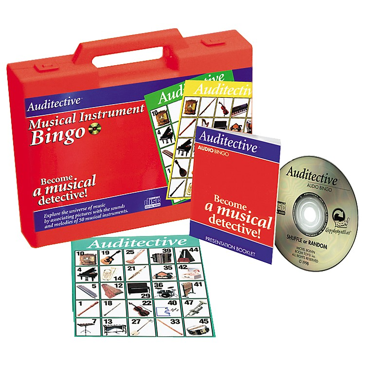Alfred Musical Instrument Bingo (Complete Game/CD)