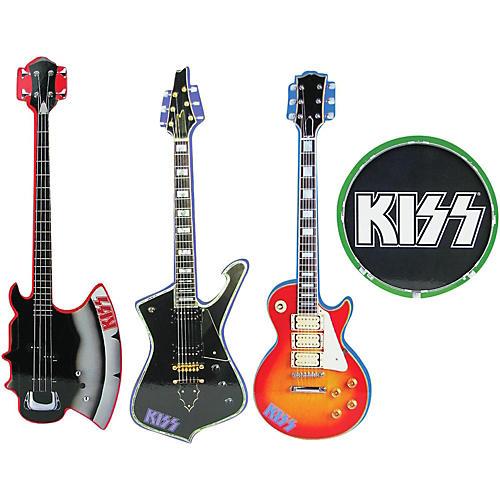 KISS Musical Instrument Shaped Coasters Set of 4-thumbnail