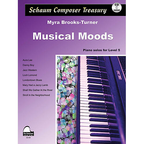 SCHAUM Musical Moods Educational Piano Series Softcover