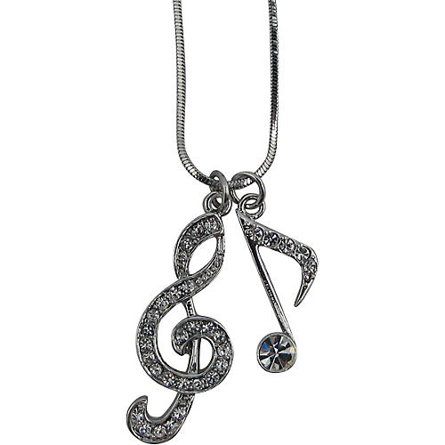 AIM Musical Note/Treble Clef Necklace-thumbnail