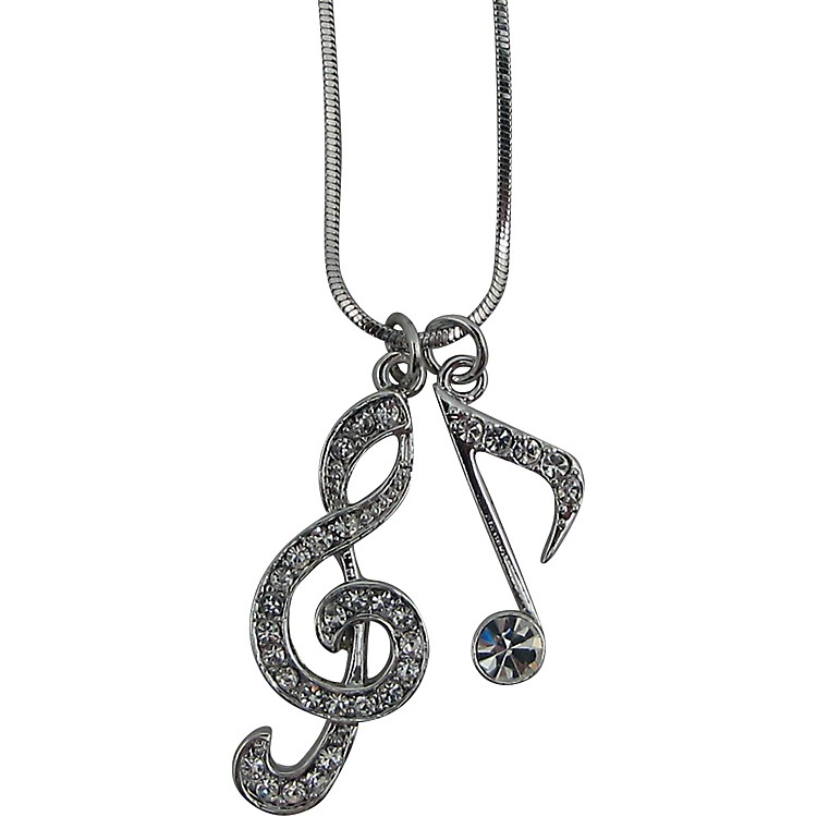 AIMMusical Note/Treble Clef Necklace