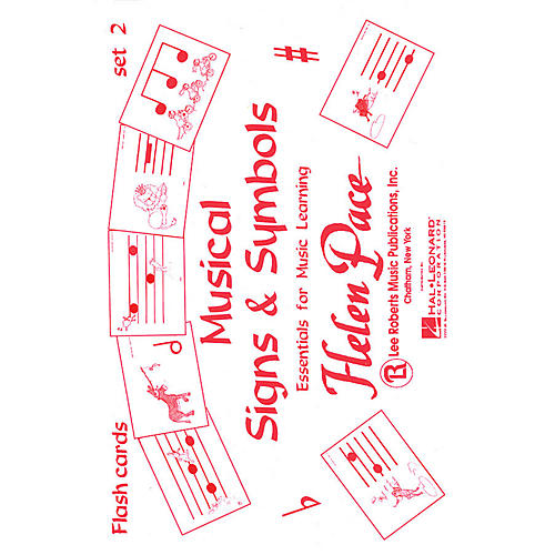 Lee Roberts Musical Signs And Symbols Set Ii 24 Cards 48 Sides Moppet Flash Cards Pace Piano Education by Robert Pace-thumbnail