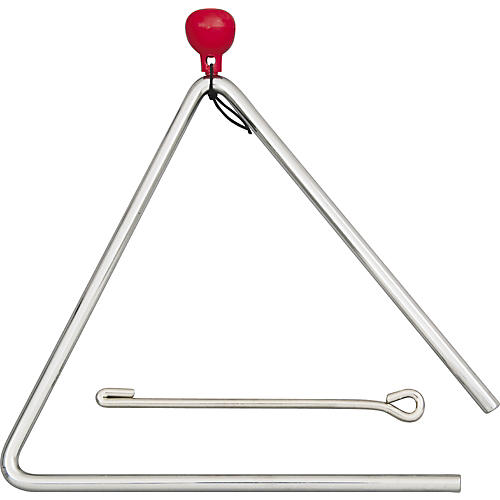 Rhythm Band Musical Steel Triangle 6 in.