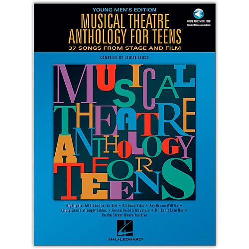 Hal Leonard Musical Theatre Anthology for Teens - Young Men's Edition Book/2CD's