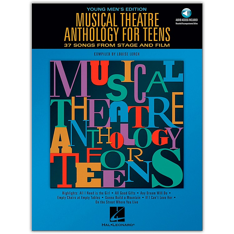 Hal LeonardMusical Theatre Anthology for Teens - Young Men's Edition Book/2CD's