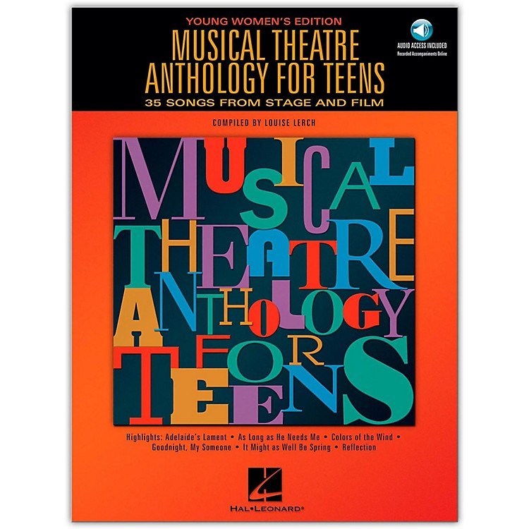 Hal Leonard Musical Theatre Anthology for Teens - Young Women's Edition Book/2CD's