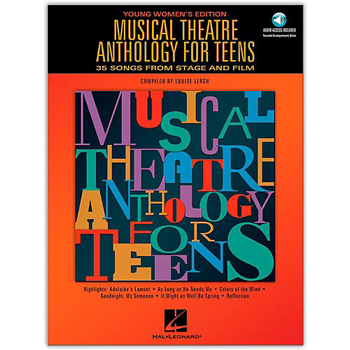 Hal Leonard Musical Theatre Anthology for Teens - Young Women's Edition (Book/Online Audio)