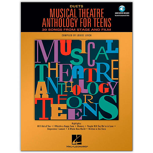 Hal Leonard Musical Theatre Anthology for Teens for Duets Book/2CD's