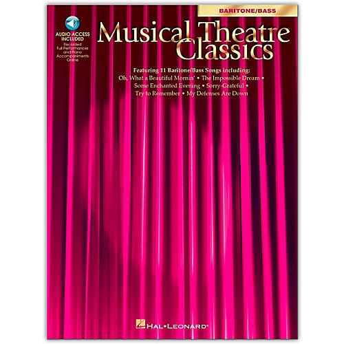Hal Leonard Musical Theatre Classics for Baritone / Bass Book/CD Pkg