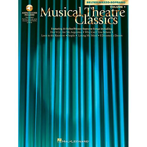 Hal Leonard Musical Theatre Classics for Mezzo-Sporano / Belter Volume 1 Book/CD-thumbnail