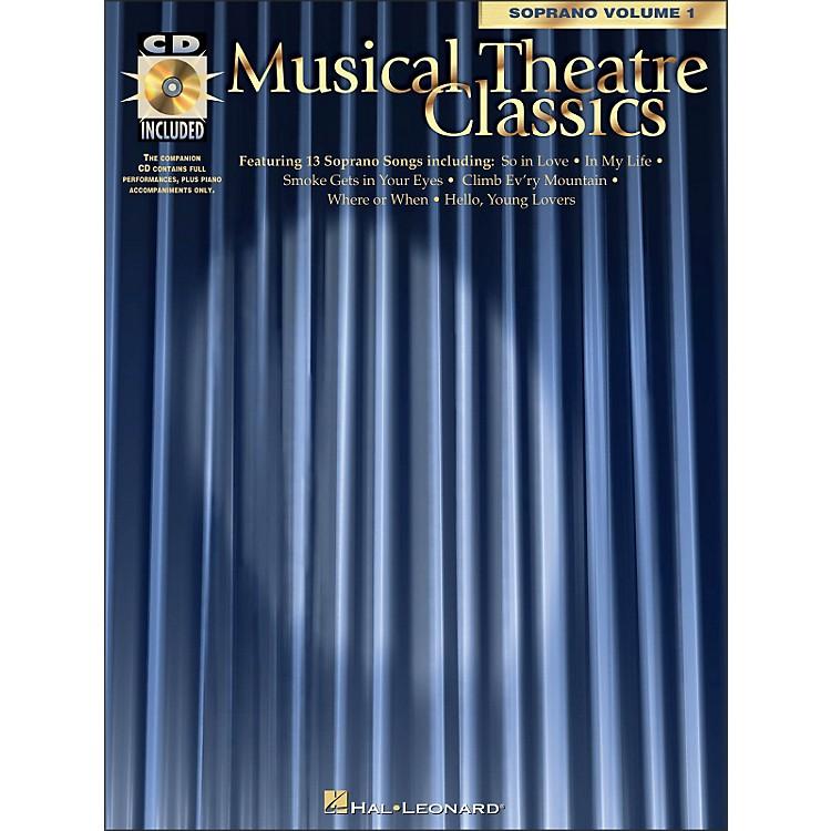 Hal LeonardMusical Theatre Classics for Soprano Vol 1 Book/CD Pkg