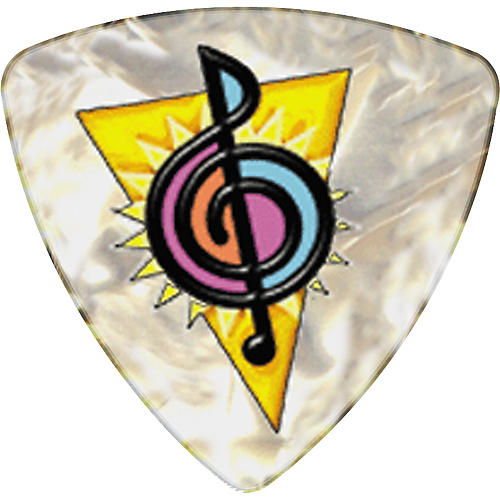 Clayton Musicians Friend Rounded Triangle Guitar Picks-thumbnail