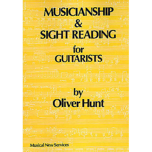 Music Sales Musicianship And Sight Reading For Guitarists Music Sales America Series