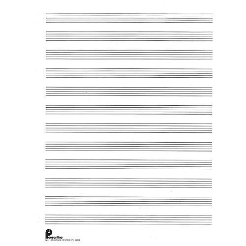 Music Sales Musipack 3 Ring Filler No. 1: 12-stave (Passantino Manuscript Paper) Music Sales America Series-thumbnail
