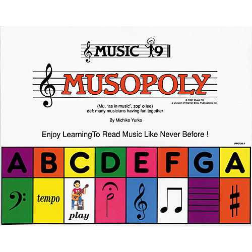 Alfred Musopoly Learn To Read Music (Game)