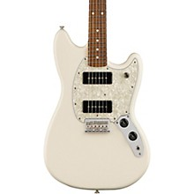 Fender Mustang 90 with Pau Ferro Fingerboard Electric Guitar Olympic White