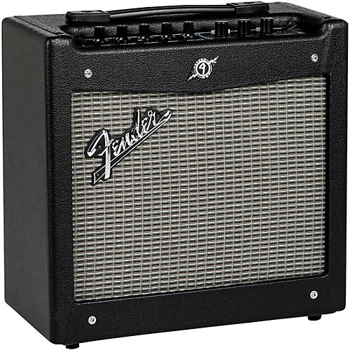 fender mustang i v 2 20w 1x8 guitar combo amp black musician 39 s friend. Black Bedroom Furniture Sets. Home Design Ideas