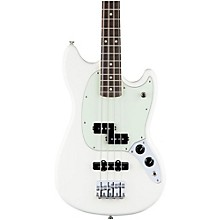 Fender Mustang PJ Bass, Rosewood Fingerboard Olympic White